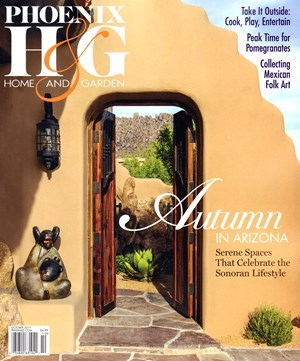 Phoenix Home & Garden Magazine | 10/2019 Cover