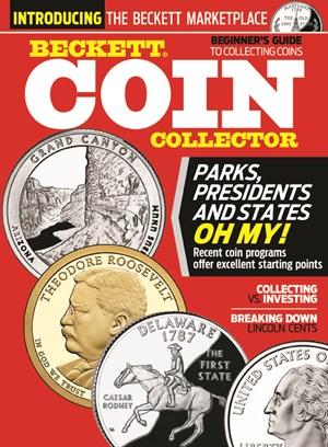 Beckett Coin Collector   1/2025 Cover