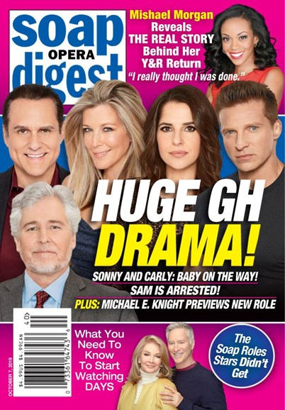Soap Opera Digest Cover - 10/7/2019