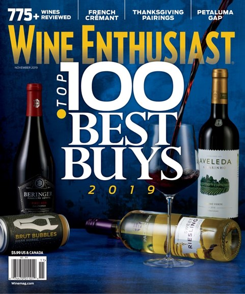 Wine Enthusiast Cover - 11/1/2019
