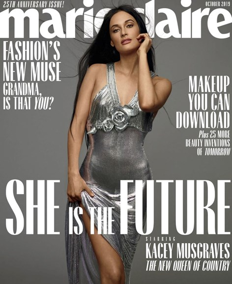 Marie Claire Cover - 10/1/2019