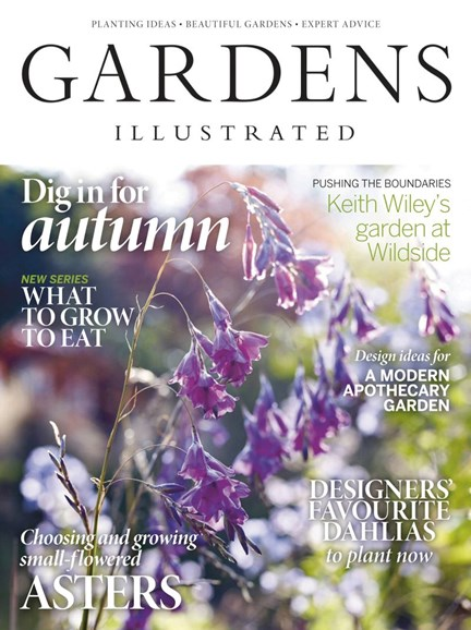 Gardens Illustrated Cover - 10/1/2019