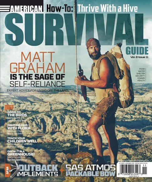 American Survival Guide Cover - 11/1/2019