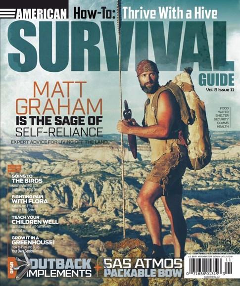 American Survival Guide Cover - 11/1/2019