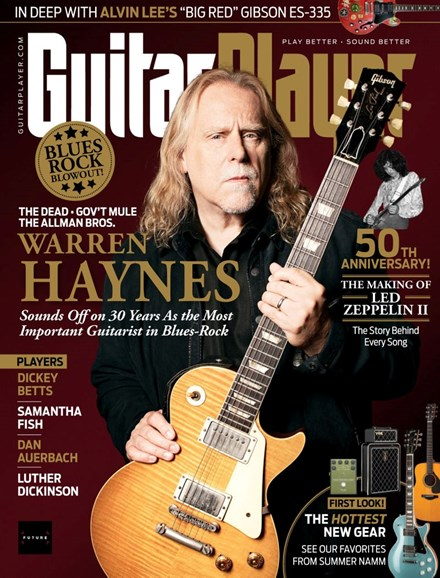 Guitar Player Cover - 11/1/2019
