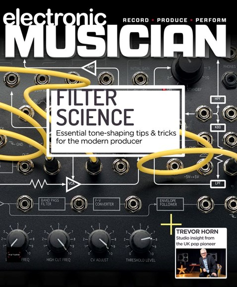 Electronic Musician Cover - 11/1/2019