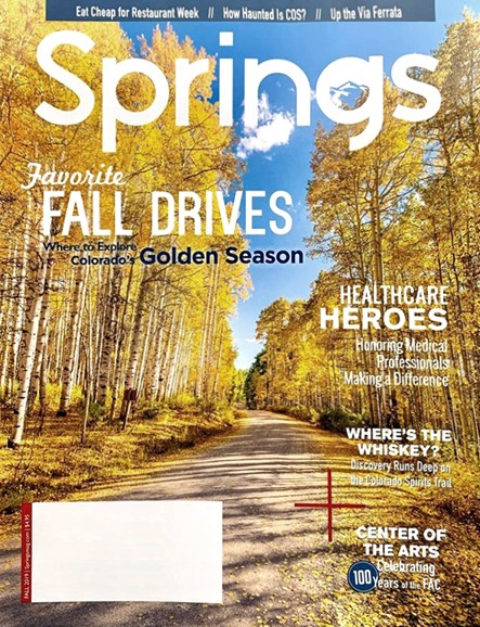 Springs Magazine Cover - 9/1/2019