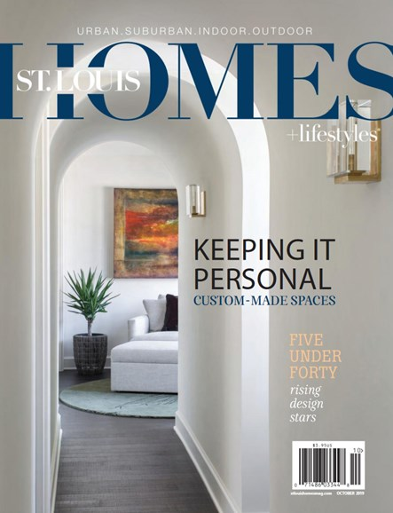 St. Louis Homes & Lifestyles Cover - 10/1/2019