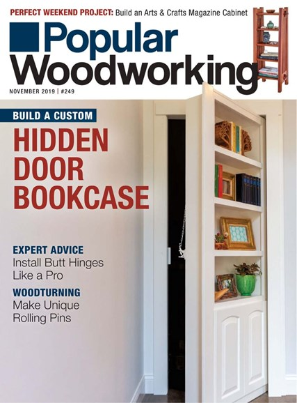 Popular Woodworking Cover - 11/1/2019