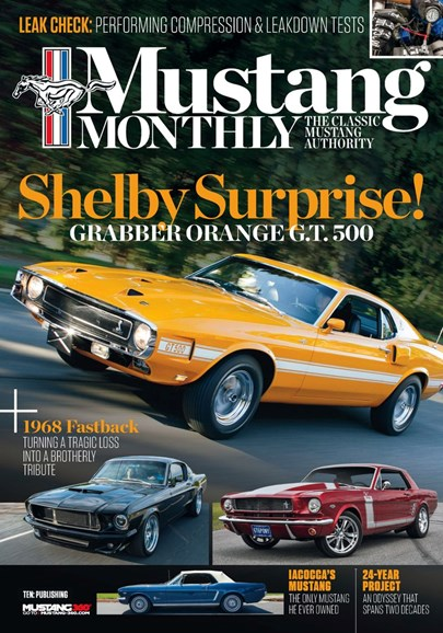 Mustang Monthly Cover - 11/1/2019