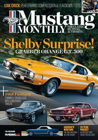 Mustang Monthly Magazine | 11/2019 Cover