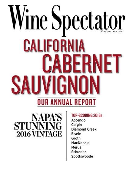 Wine Spectator Cover - 11/15/2019