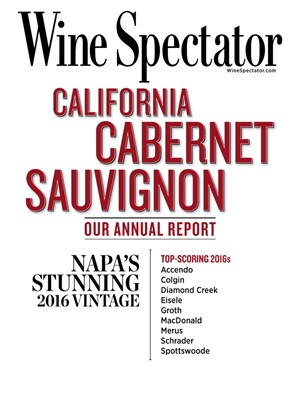 Wine Spectator Magazine | 11/15/2019 Cover