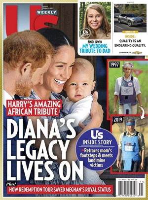 Us Weekly Magazine   10/14/2019 Cover