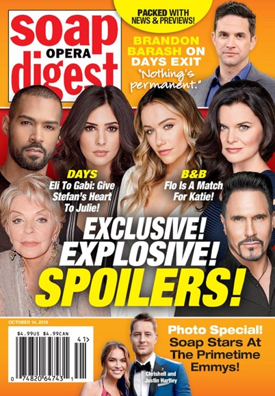 Soap Opera Digest Cover - 10/14/2019