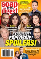Soap Opera Digest Magazine 10/14/2019