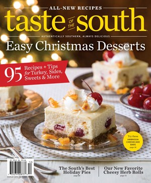Taste Of The South Magazine | 11/2019 Cover