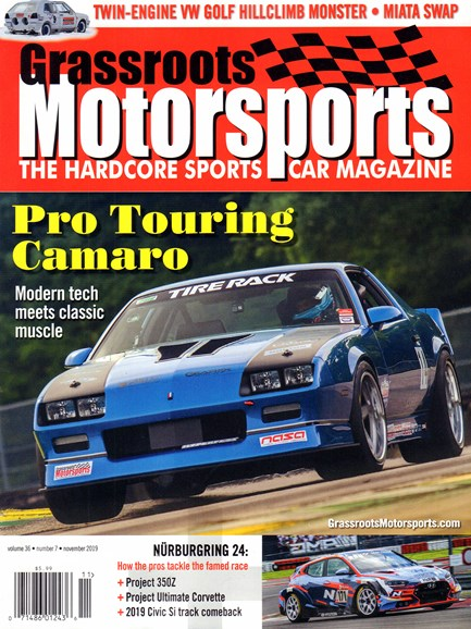 Grassroots Motorsports Cover - 11/1/2019