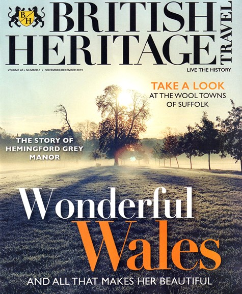 British Heritage Travel Cover - 11/1/2019