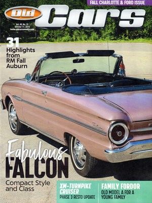 Old Cars Weekly Magazine | 10/17/2019 Cover