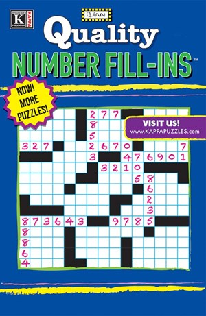 Quality Number Fill-ins Magazine | 1/2025 Cover