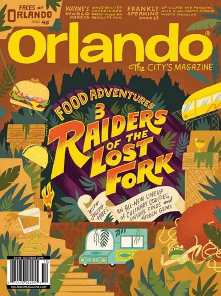 Orlando Magazine Cover - 10/1/2019