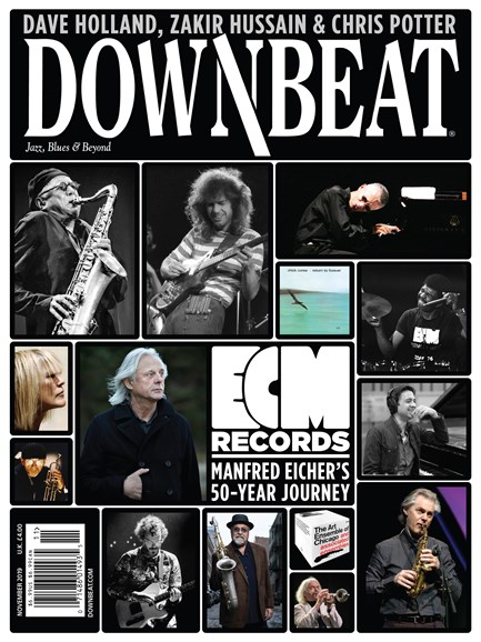 DownBeat Cover - 11/1/2019