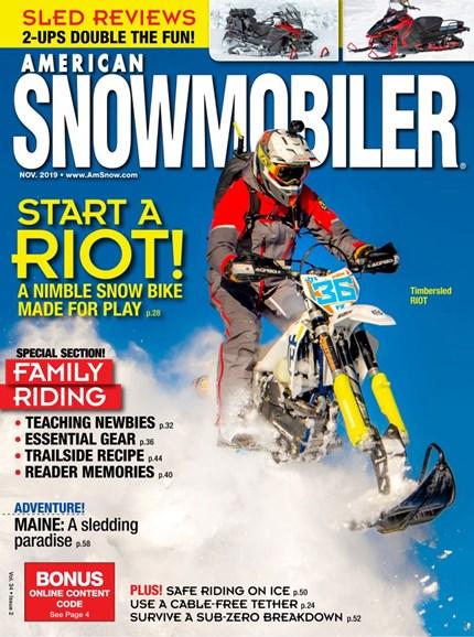 American Snowmobiler Cover - 11/1/2019