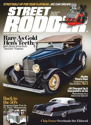 Street Rodder Magazine | 12/2019 Cover