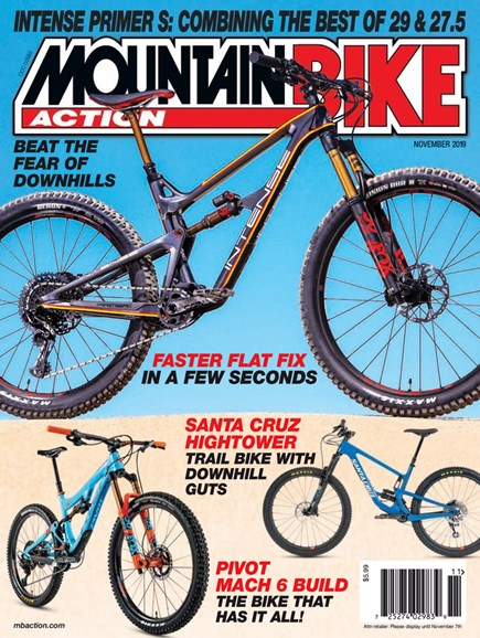Mountain Bike Action Cover - 11/1/2019