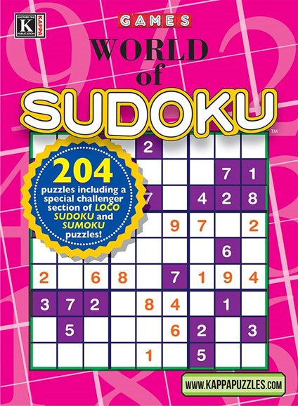 World Of Sudoku Cover - 1/1/2025