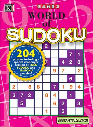 World Of Sudoku Magazine | 1/2025 Cover
