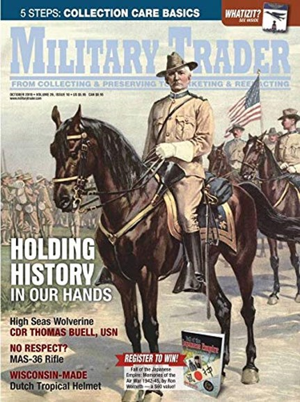 Military Trader Cover - 10/1/2019