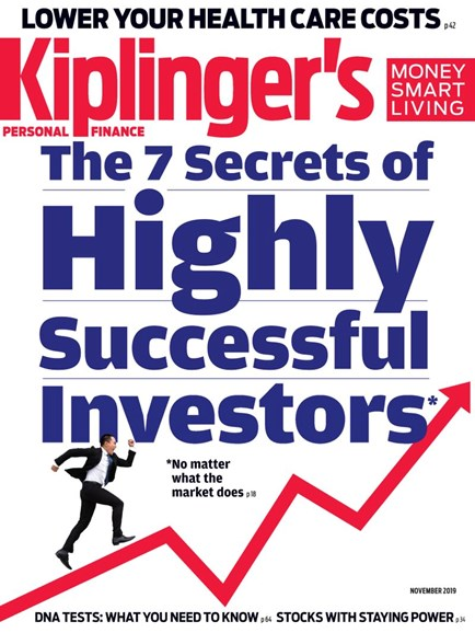 Kiplinger's Personal Finance Cover - 11/1/2019
