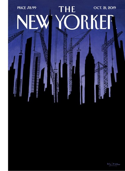 The New Yorker Cover - 10/21/2019