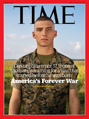 Time Magazine | 10/21/2019 Cover