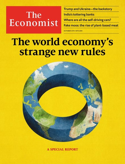 The Economist Cover - 10/12/2019