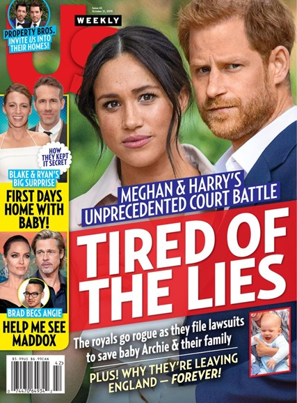 Us Weekly Cover - 10/21/2019