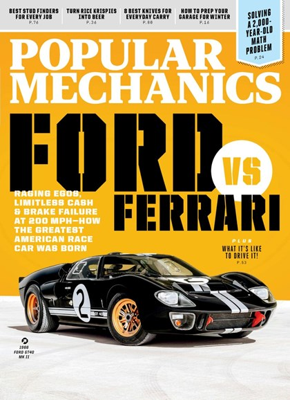 Popular Mechanics Cover - 11/1/2019