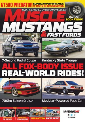 Muscle Mustangs & Fast Fords Magazine | 12/2019 Cover