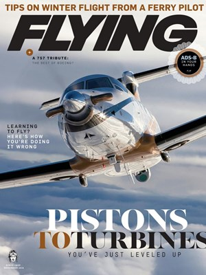 Flying Magazine | 11/2019 Cover