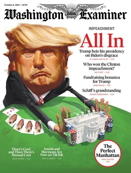 Washington Examiner Cover - 10/8/2019