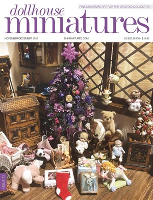 Dollhouse Miniatures | 11/2019 Cover