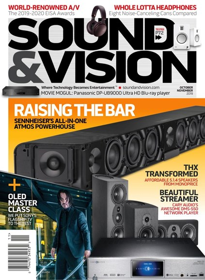 Sound & Vision Cover - 10/1/2019
