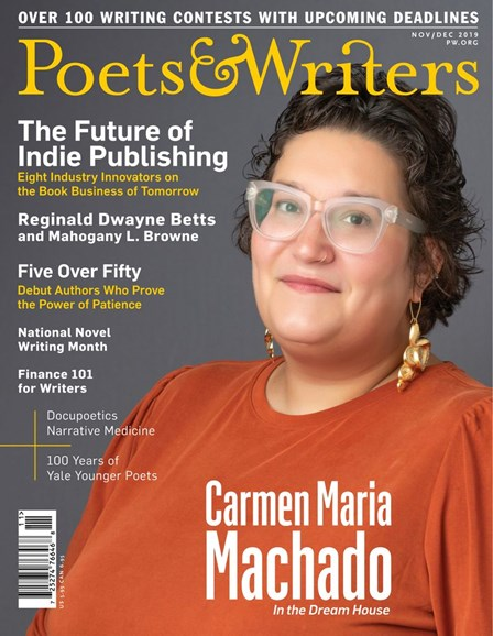 Poets & Writers Cover - 11/1/2019