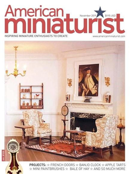 American Miniaturist Cover - 11/1/2019