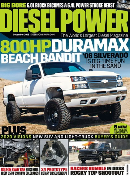 Diesel Power Cover - 12/1/2019