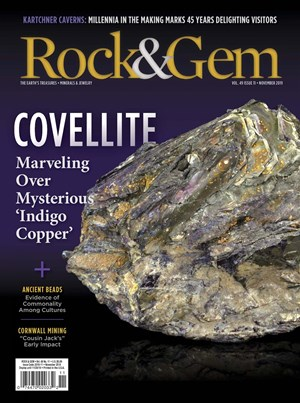 Rock and Gem Magazine | 11/2019 Cover