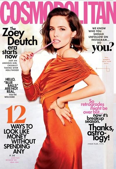 Cosmopolitan Cover - 11/1/2019