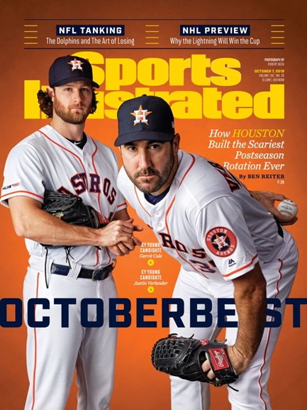 Sports Illustrated Cover - 10/7/2019